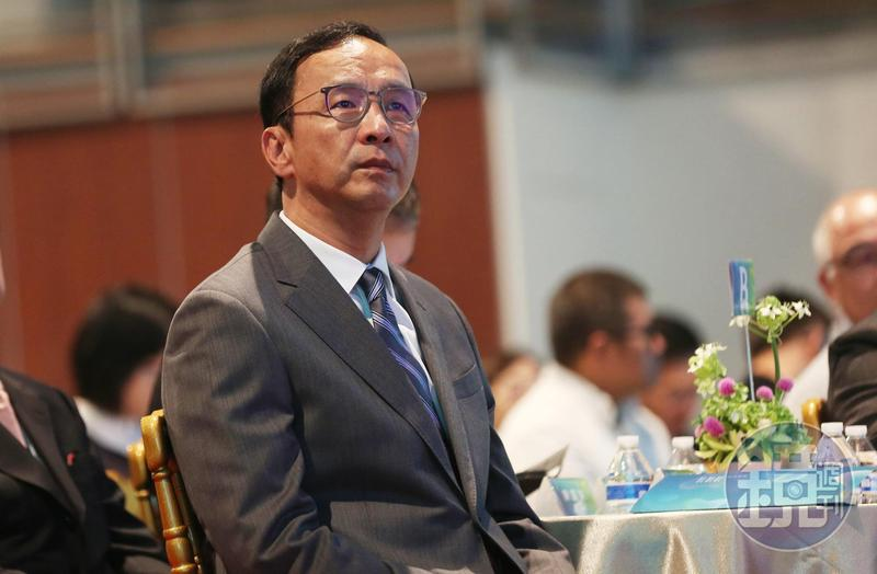 接任韓國瑜全國競選總部主委的前新北市長朱立倫。