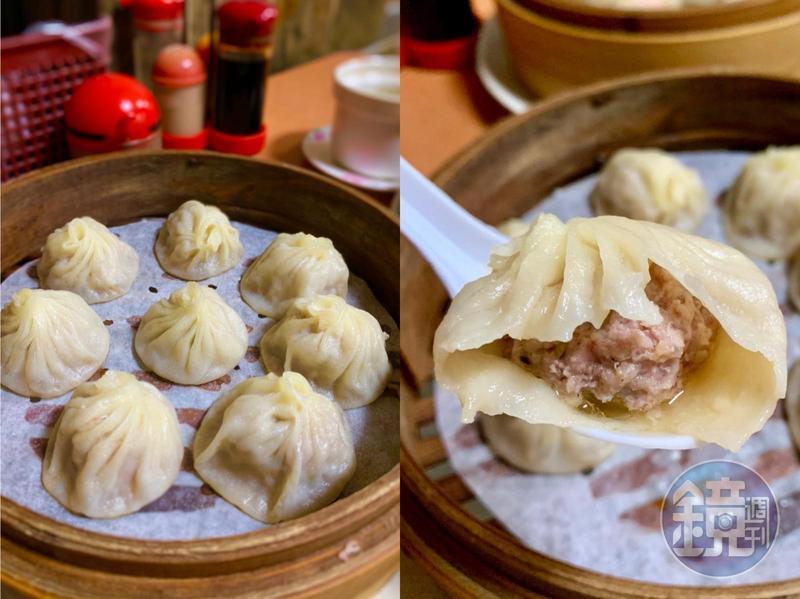 「好公道金雞園」靠著皮薄餡美的小籠包和上海點心,入選《2019台北米其林指南》的必比登推薦。