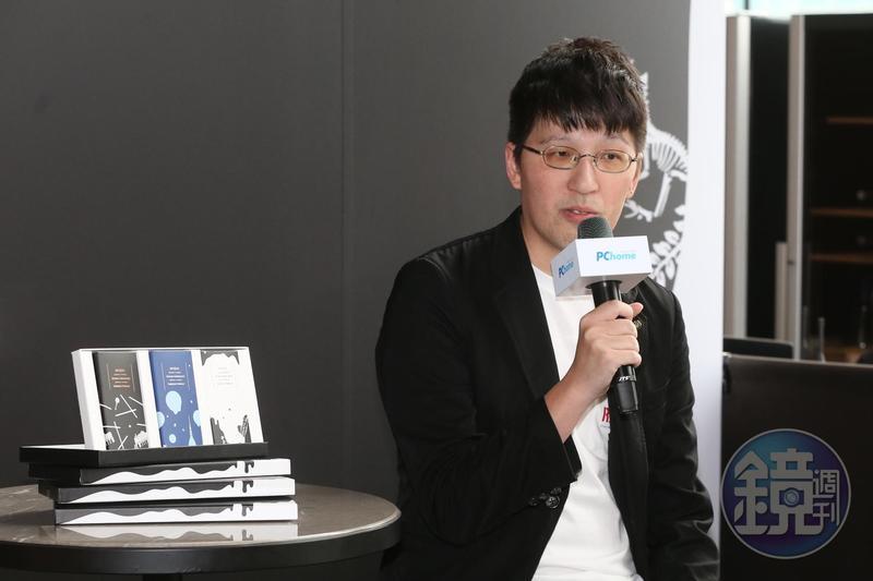 詹宏志兒子詹朴替福灣巧克力設計聯名巧克力包裝雙12開賣。