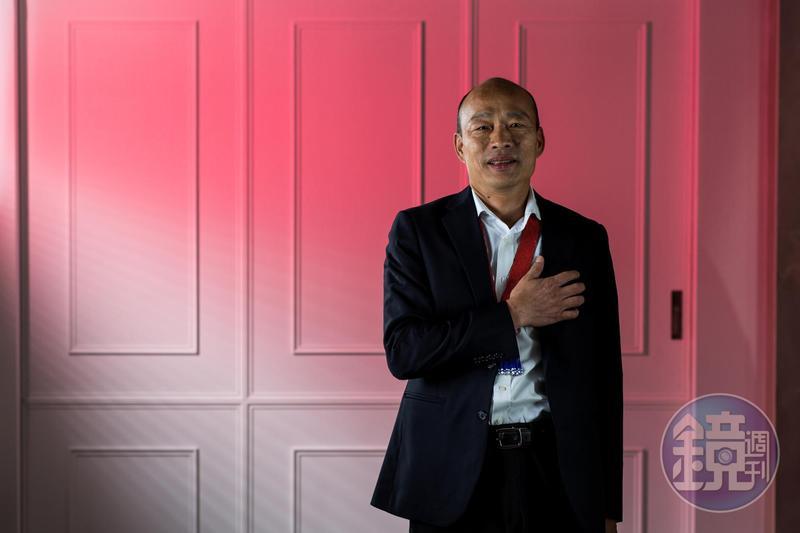 針對民進黨推出新競選影片,韓國瑜於臉書po文反擊,痛批對手「高雄人為什麼要說對不起?對不起高雄的不就是你民進黨!」(本刊資料照)