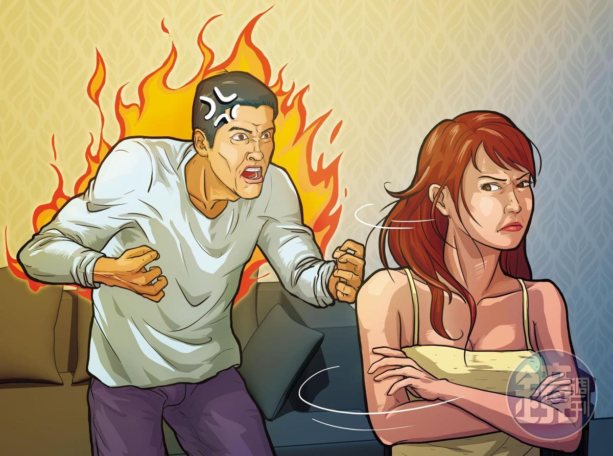 楊女提分手、搬回中和老家後,馬男曾找上門要求復合,爆發爭吵。(圖為示意畫面)