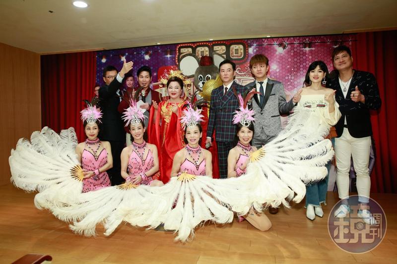 白冰冰號召大家共襄盛舉「新北歌廳秀」,要重現當年秀場風光。