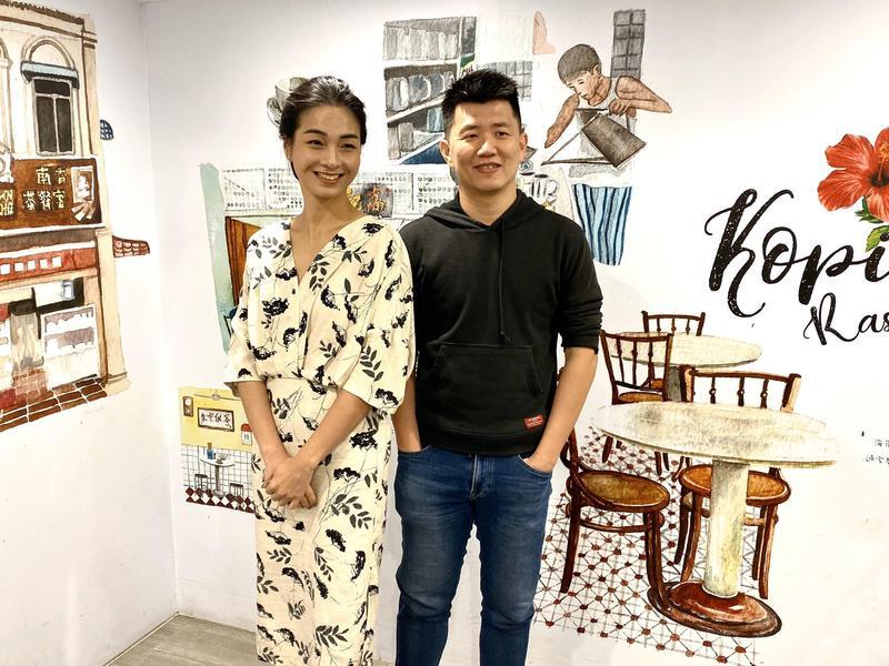 廖克發與陳雪甄分享拍攝《菠蘿蜜》的甘苦趣事。(牽猴子提供)