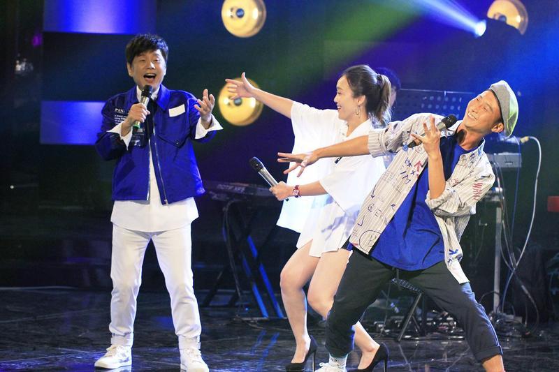 黃西田、張艾莉從小歌唱比賽經驗豐富。(公視提供)