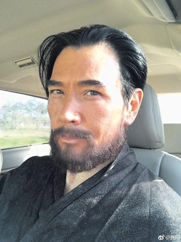 有網友挖出,原來費翔在過去蓄鬍就是為了這部電影的拍攝。(翻攝費翔微博)