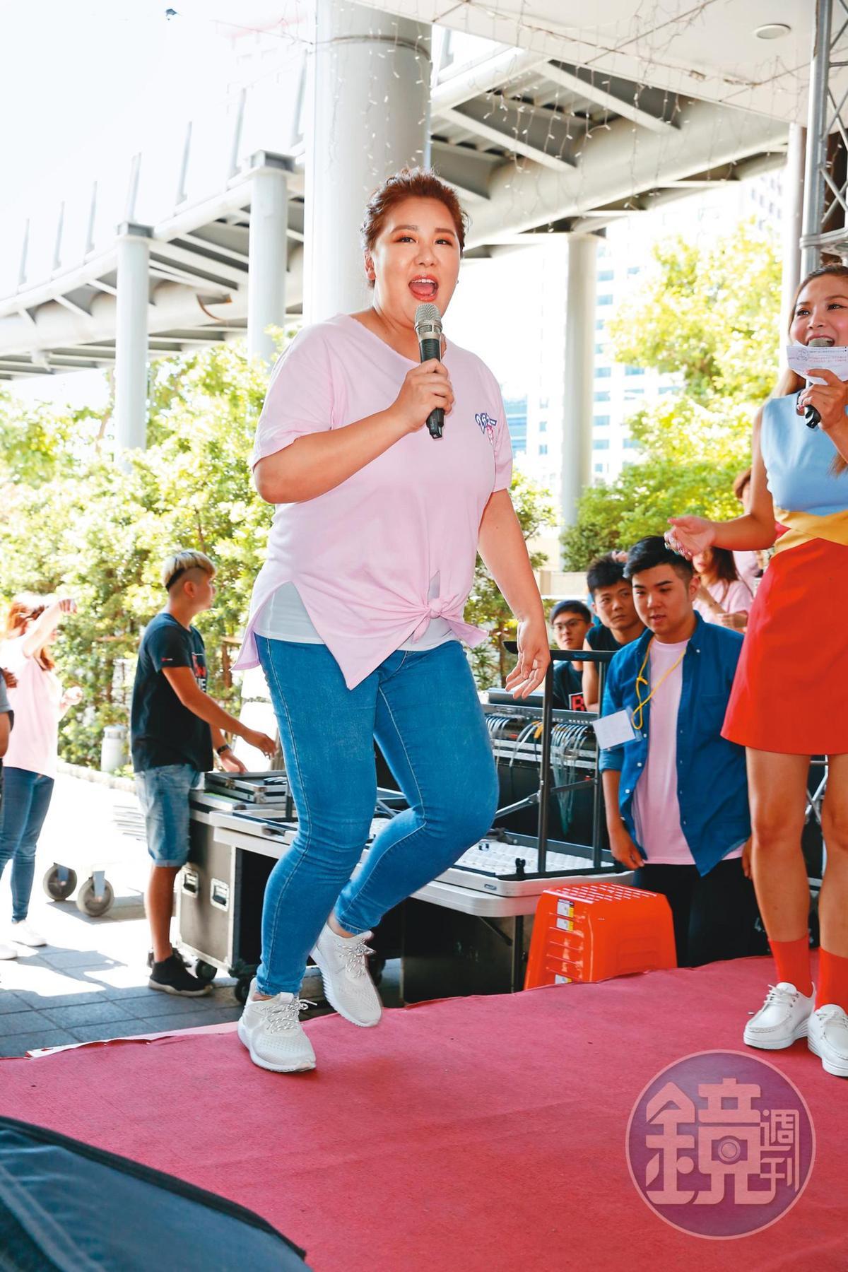 小禎半年神速瘦了40公斤,她聲稱自己是因為運動、飲食而瘦下。