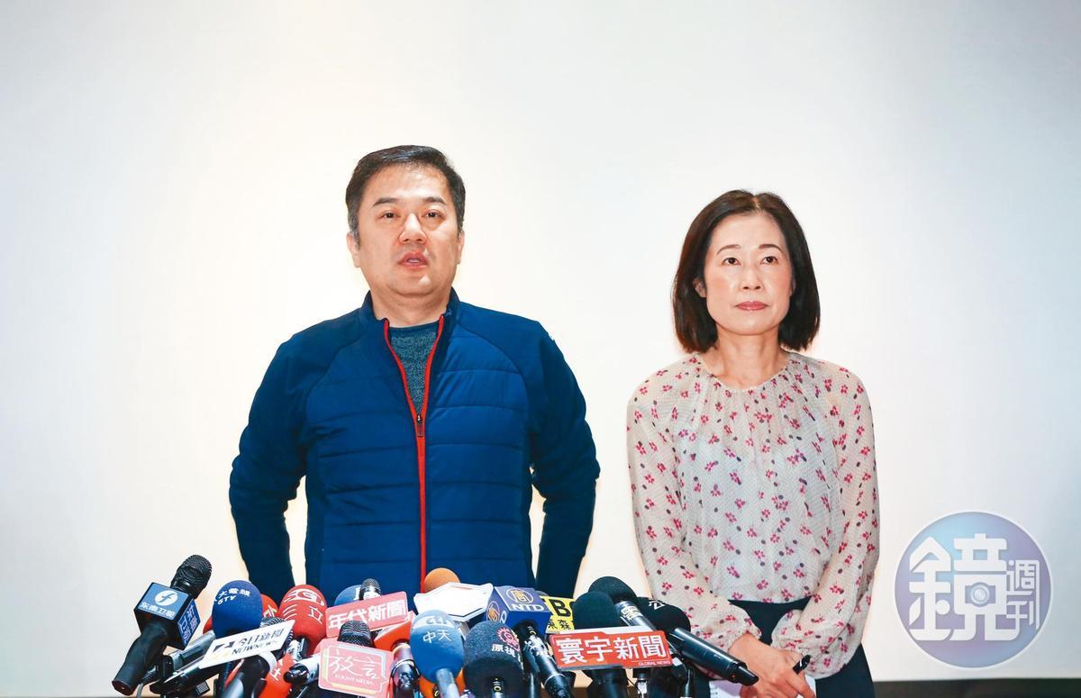 日前遠航爆出掏空案,董事長張綱維特別舉行記者會說明。