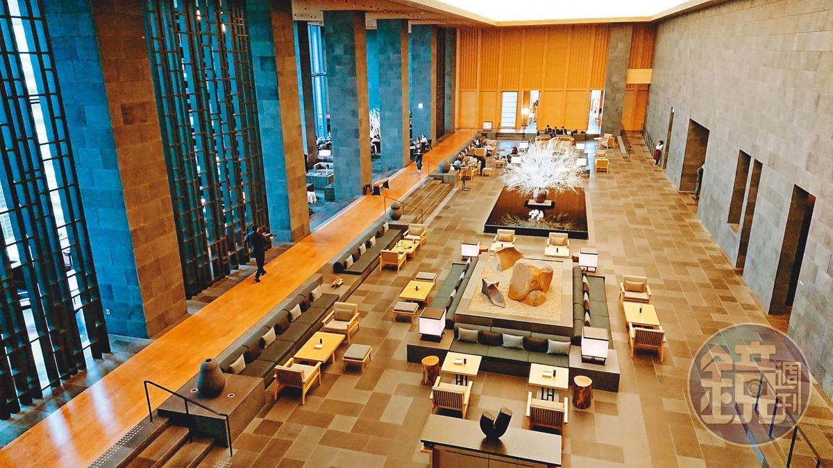 安縵酒店是東京5星級飯店,低調而奢華。