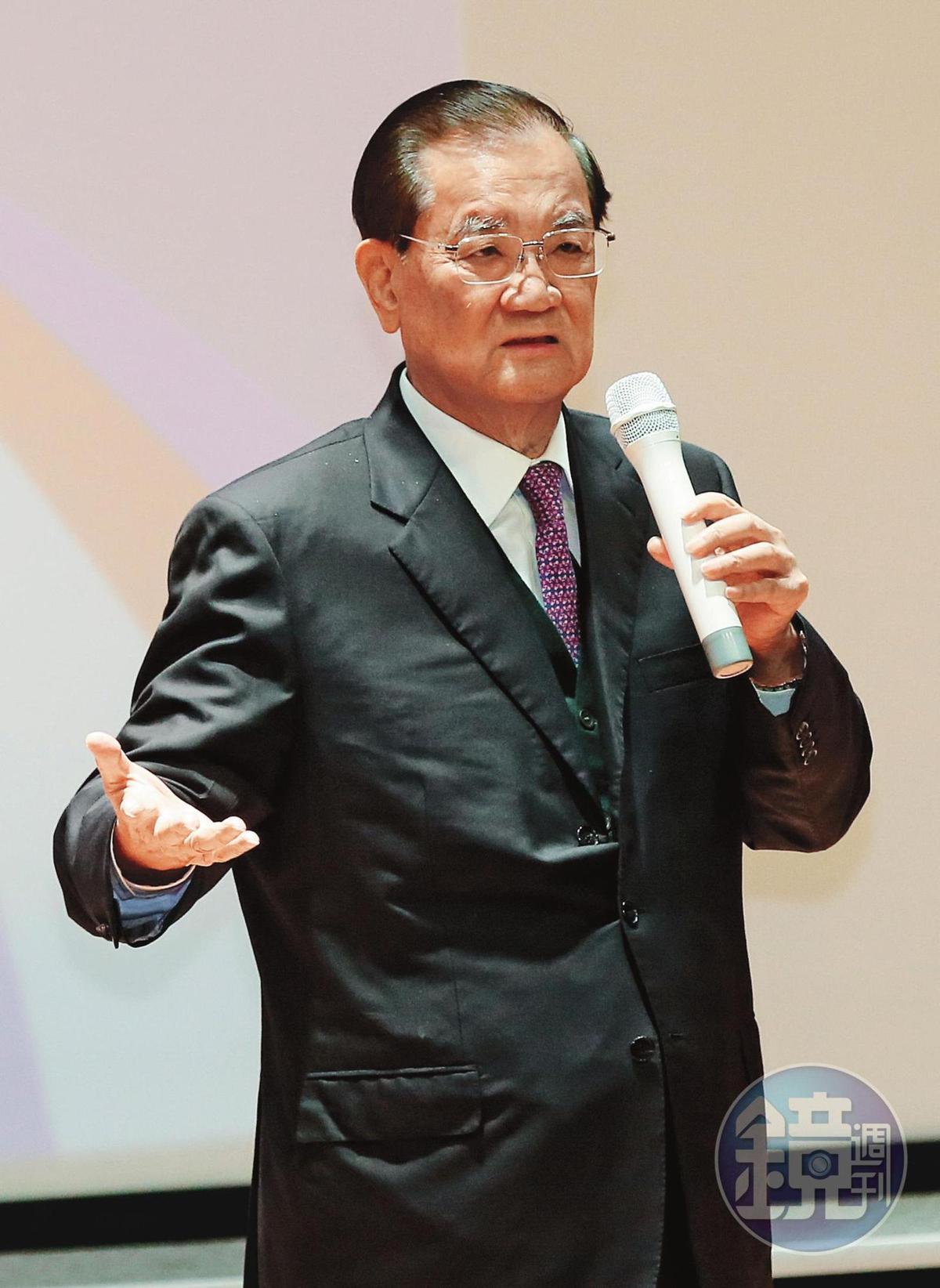 國民黨榮譽主席連戰(圖)曾由前央廣董事長朱婉清出面,否認李建軍在書中的爆料。