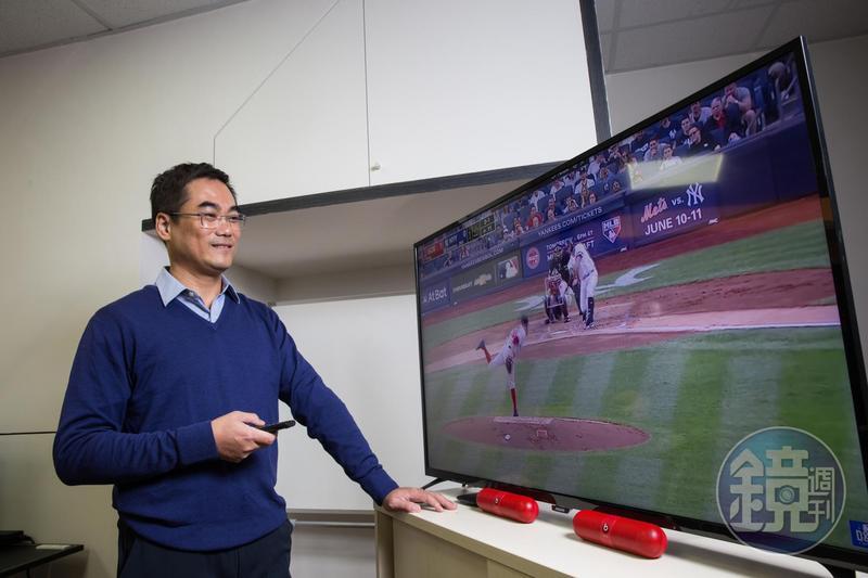 身為資深棒球迷,洪志賢也把看球心得轉化為投資之道,將股票數據量化設計出一套算價術。