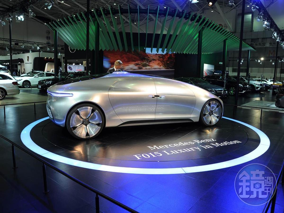 不少車廠也在車展將會有概念車來展示未來科技。