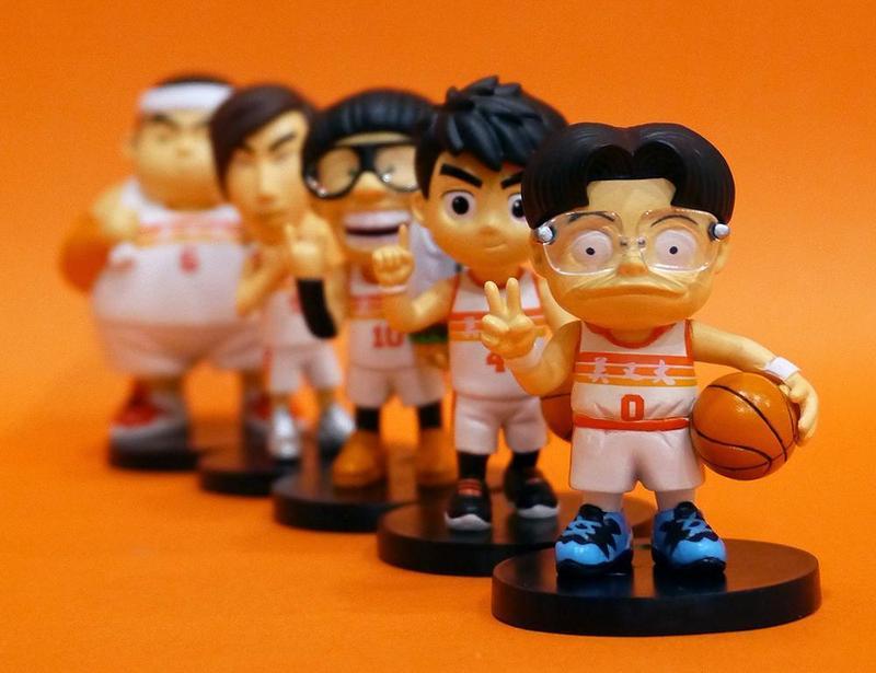 洪元建積極經營《宅男打籃球》的IP,推出成本較高的公仔周邊,對他而言也是接受市場的挑戰。(洪元建提供)