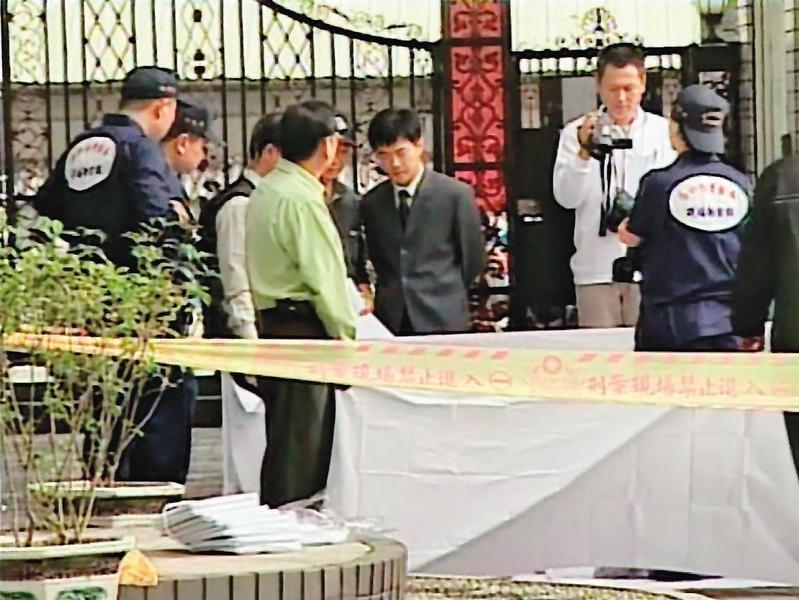 洪國揚行凶造成3死1重傷,自己也從9樓往下跳,當場死亡。(東森新聞提供)