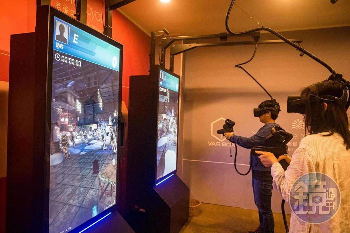 戴上VR眼鏡,就可以進入不同的世界。