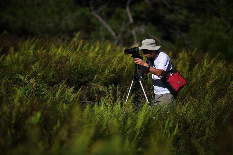麥覺明熱愛登山及戶外活動,長期以影像記錄台灣山林之美。(大麥影像傳播工作室提供)