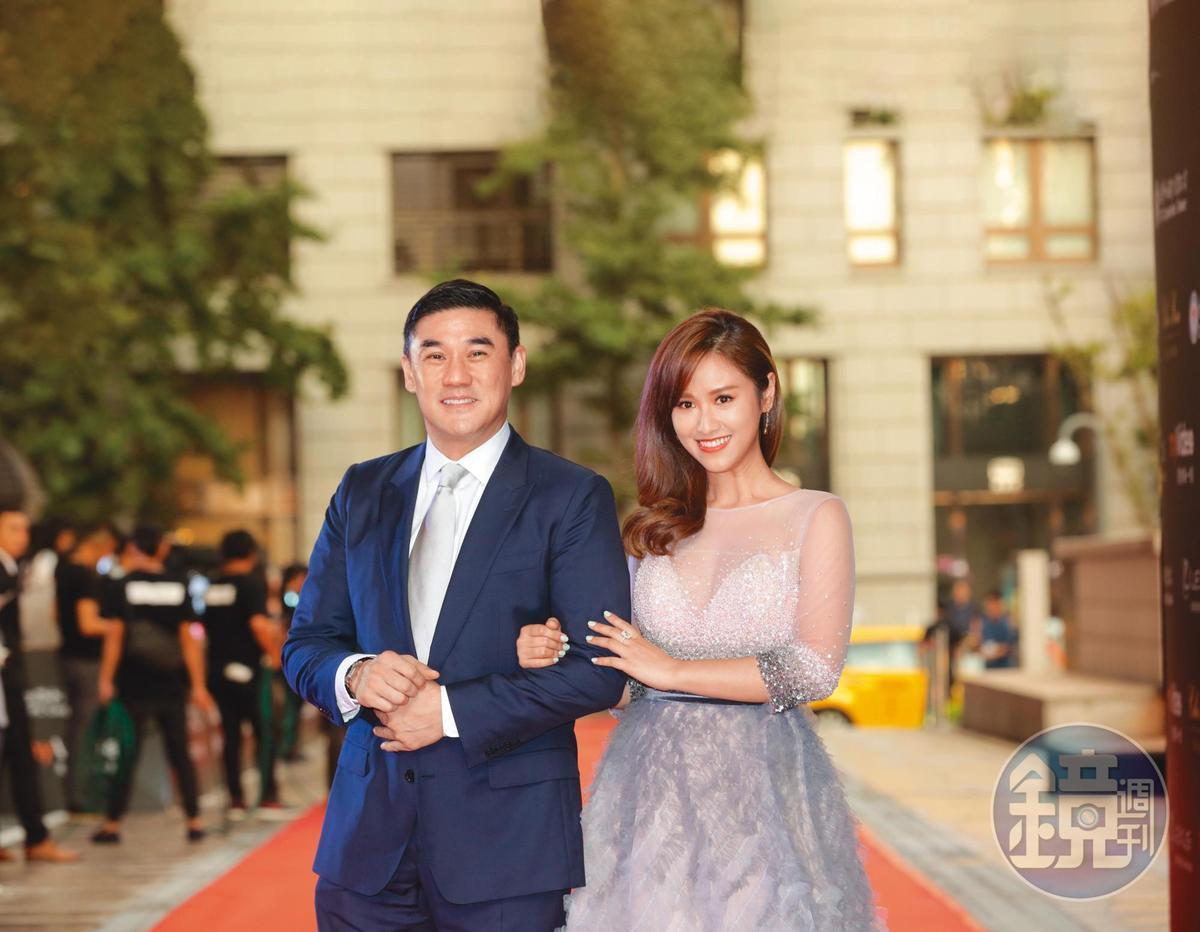 吳大維前年和吳姍儒一同出席亞太影展擔任主持人。