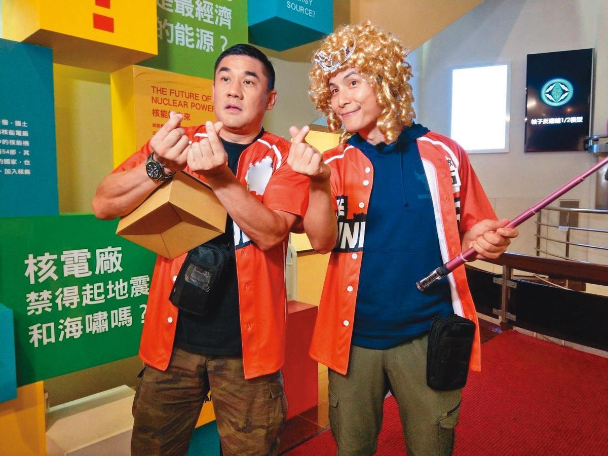 吳大維去年大多時間留在台灣上綜藝節目,為了家庭他也準備在台灣長期發展。