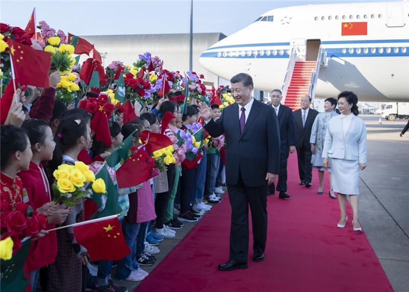 中國國家主席習近平出席澳門治權移交20週年紀念活動。(網路截圖:新華社)