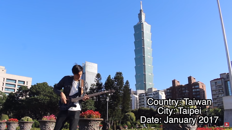 YouTuber Davie504 用影片拍出世界各城市之美,意外引起中國網友不適。(翻攝 Davie504 YouTube 頻道)