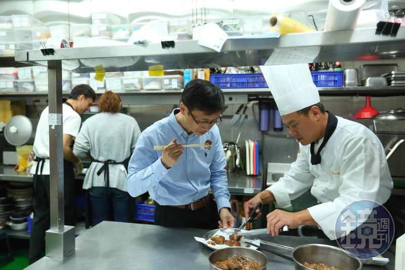 詹金和對專業的尊重,讓欣光食品近年能吸引名廚級人才加入,穩座中餐代工王。