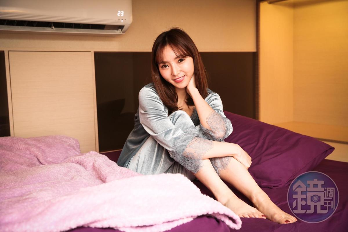 夏木安梨表示在台灣超好睡,連夢都沒有做過幾次,覺得很神奇。