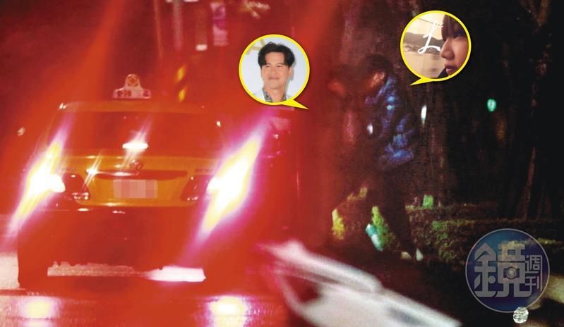 12/31 03:50 李聖傑接了女生後,最後一起回到南港住處。