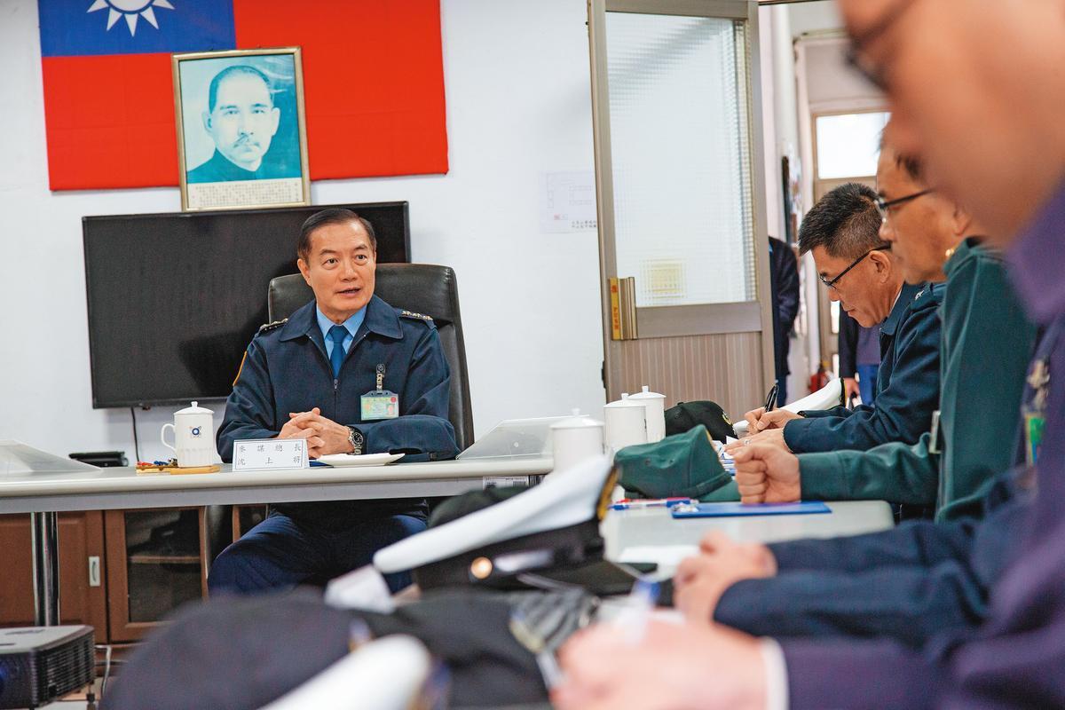 參謀總長沈一鳴是此次意外軍階官職最高的罹難者。(軍聞社)