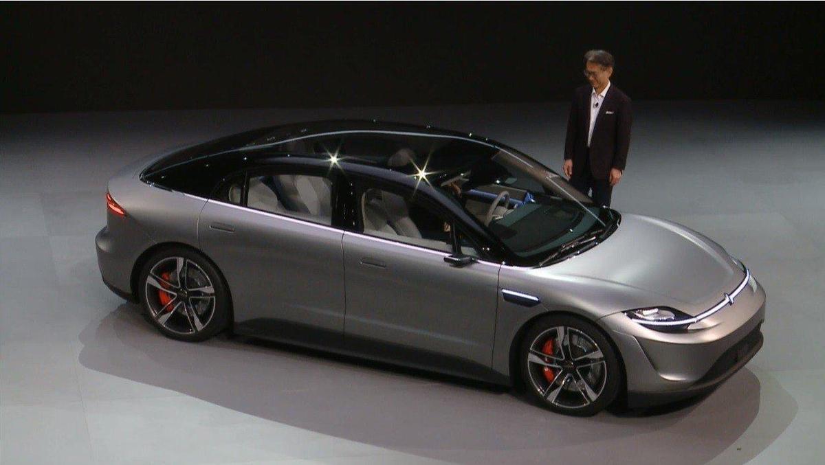 CES大驚喜! SONY電動概念車Vision S來了