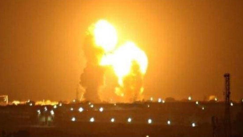 報復蘇萊曼尼遭刺殺,伊朗革命衛隊發射導彈攻擊伊拉克美軍基地。(網路截圖:TehranTimes)