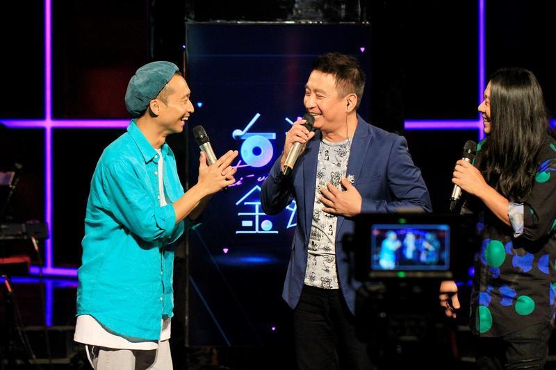 王中平《台灣金頌》現場演唱成名曲<空笑夢>破除代唱傳聞。(圖/公視提供)