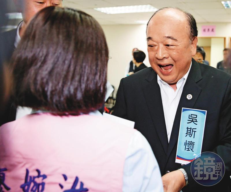 列入不分區名單的吳斯懷,被視為重創藍營選情的因素,在選後成為黨內撻伐對象。