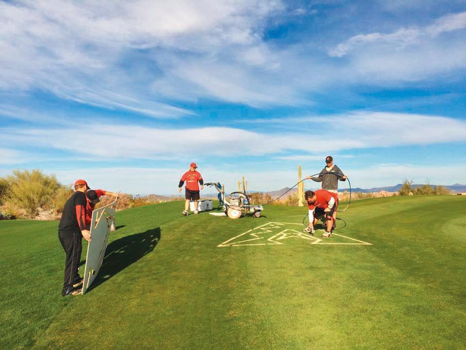 翁滋蔓經常使用的高爾夫球場,就在她男友出入的高級俱樂部附近。(翻攝自Troon North俱樂部)