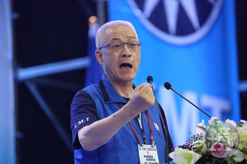 中國國民黨在本次總統暨立委大選大敗,黨內湧現檢討聲浪,圖為黨主席吳敦義。圖為本刊資料照。