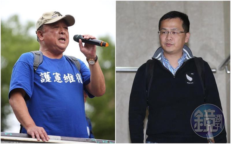 台北市議員羅智強上節目時,以沉重的口氣表示,若吳斯懷肯請辭,「去他門口跪都可以。」(本刊資料照)
