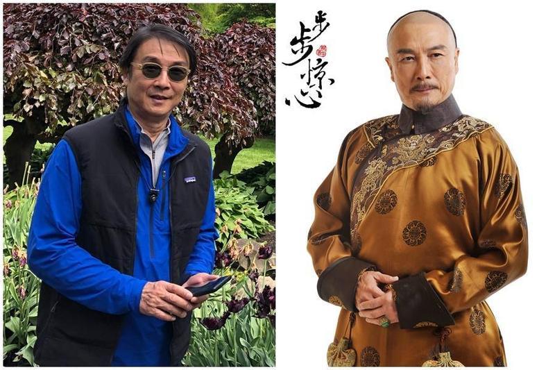 劉松仁去年5月還在微博貼出近照,當時的他身體還十分健康,不料卻傳出他疑似中風消息。(翻攝自劉松仁微博、翻攝自網路)