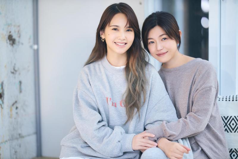 楊丞琳新歌〈不可惜〉MV,邀來好姊妹陳妍希助陣。(環球唱片提供)
