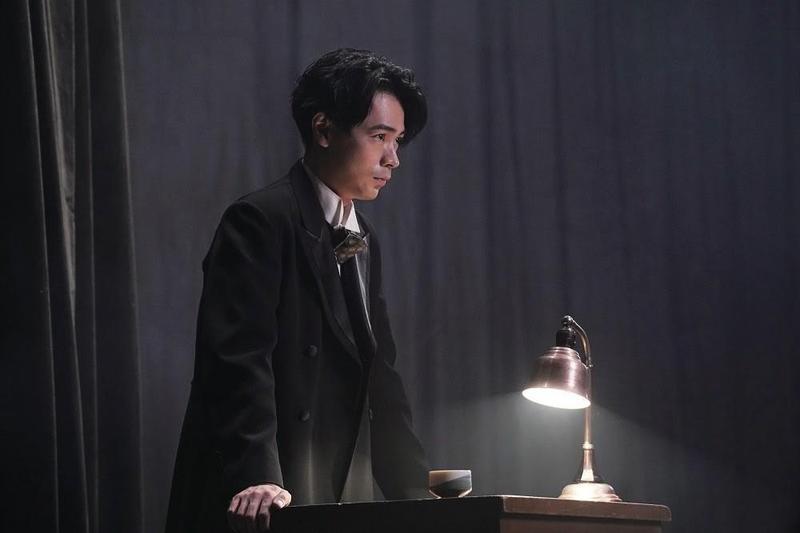 成田凌為了飾演辯士,開拍前要先接受基礎的發聲訓練。(天馬行空提供)