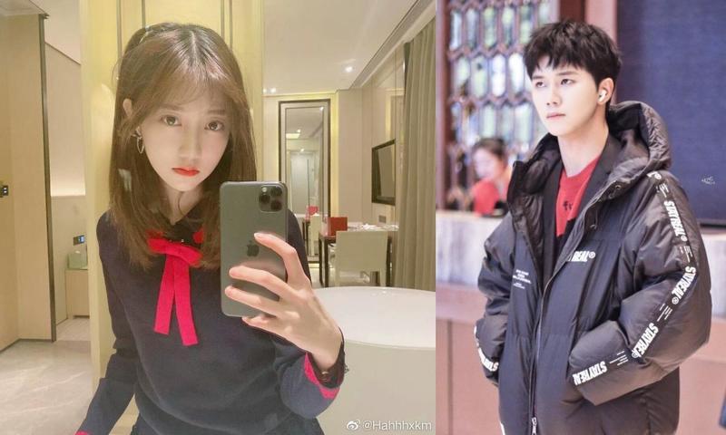 大陸女團SNH48人氣團員馮薪朵被粉絲踢爆祕戀男星陸思恒。(網路圖片)