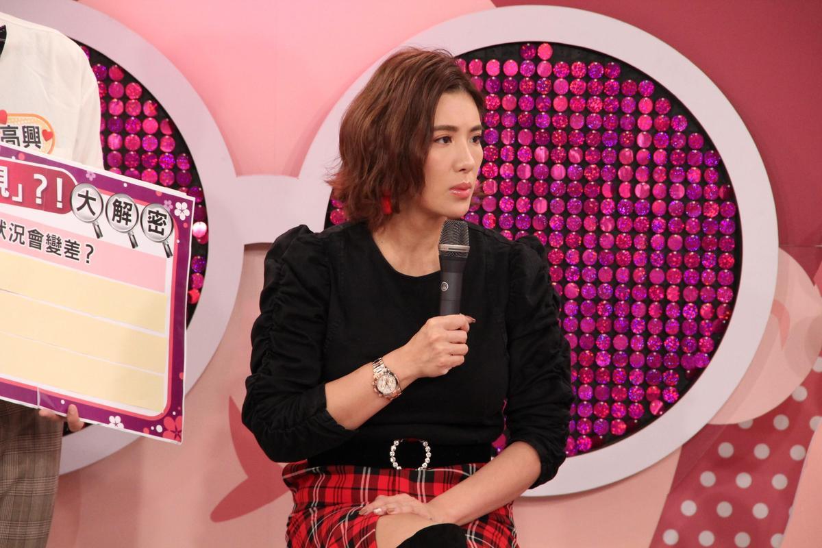 《聽媽媽的話》主持人小禎坦言擔心自己離婚會影響小孩的愛情觀。(圖/年代提供)