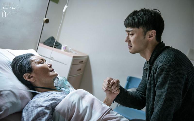 施柏宇在醫院和飾演奶奶的馬惠珍有感人對手戲。(衛視中文台提供)