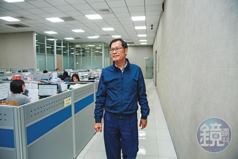 許崑泰去年運勢一路旺,群光集團獲利創新高,也如願拿下台北雙子星大樓標案。