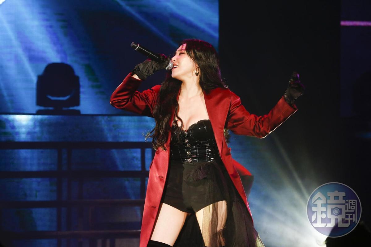 Tiffany演唱會帶來多首精彩歌曲。