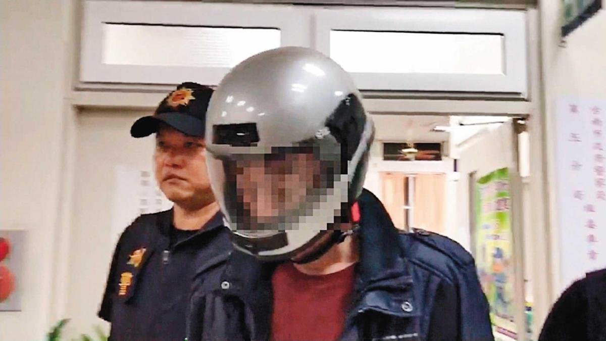 凶手陳智賢殺人後自首,他向警方表示終於解脫,可以好好睡上一覺。(東森新聞提供)