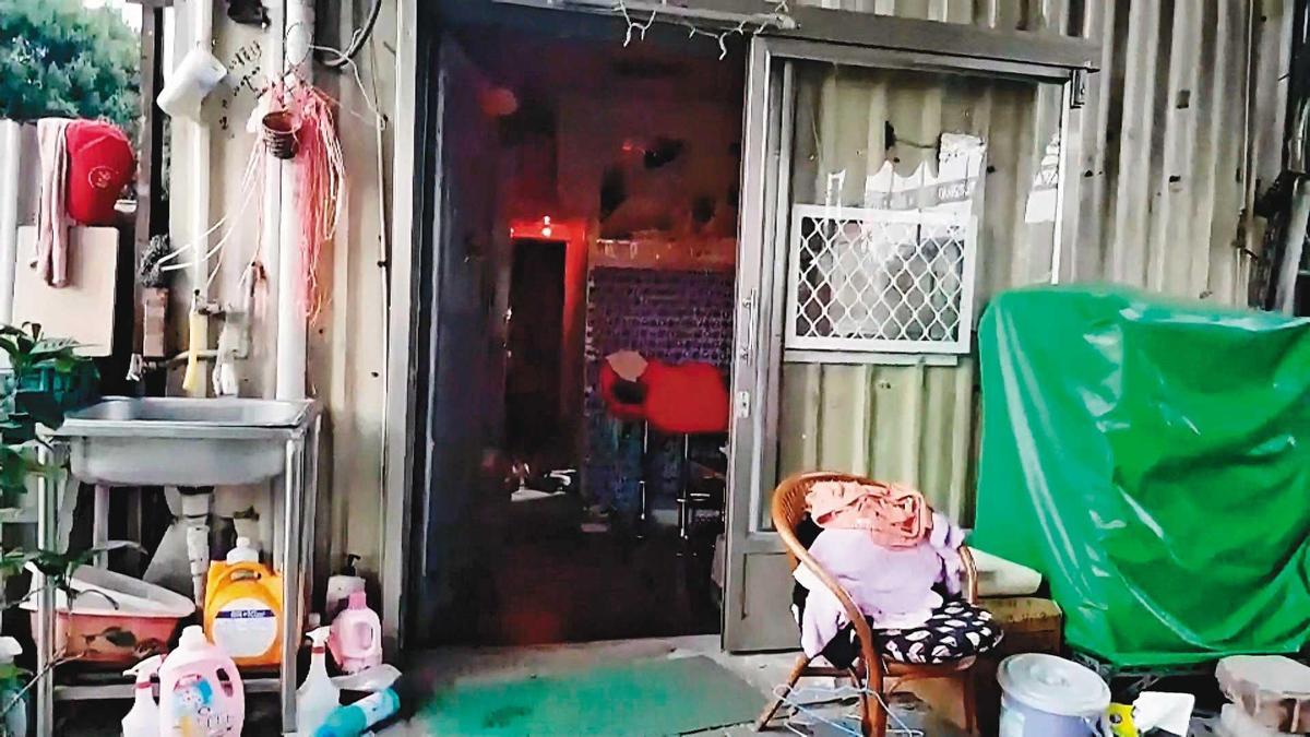 死者阿娟命喪在自己經營的私娼寮內。(東森新聞提供)
