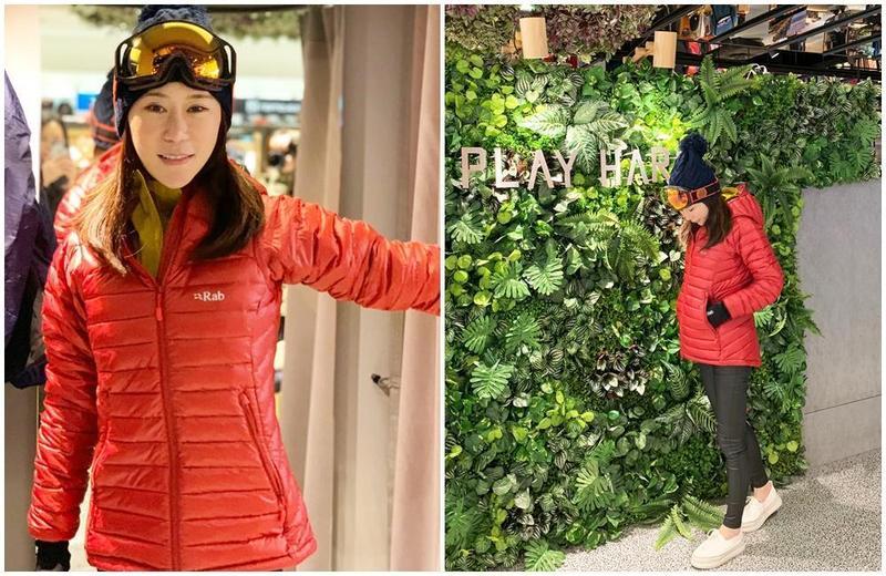 安晨妤分享出國經驗談,教大家玉米式穿搭。(芸演藝提供)