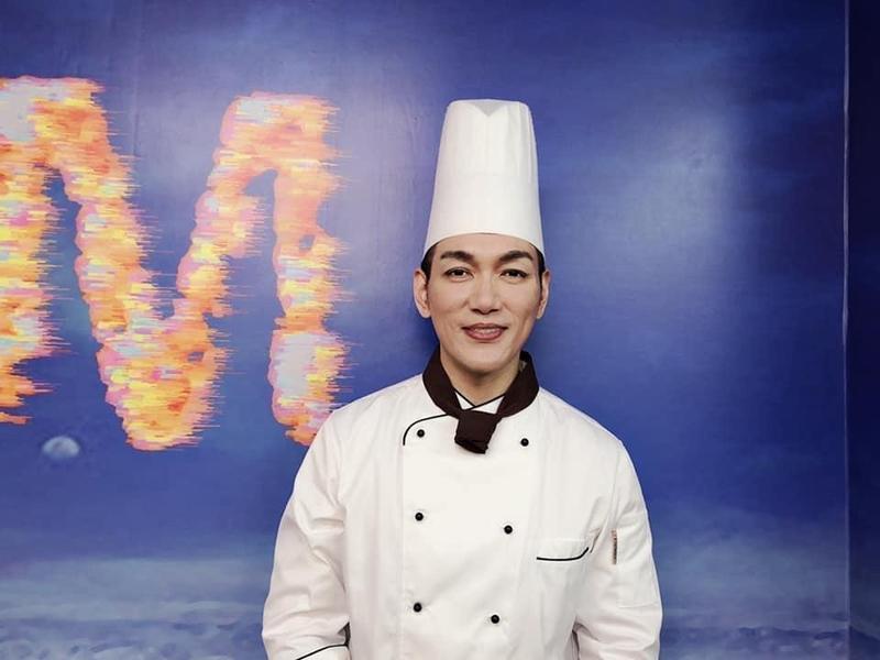 涂晨洋在《美味滿閣》飾演廚師。(翻攝自涂晨洋臉書)