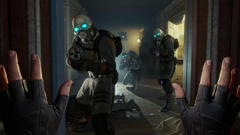 VR頭盔越來越平價,但缺乏能帶動風潮的VR遊戲;《戰慄時空:艾莉克絲》有機會扮演VR遊戲潮流的推手嗎?(翻攝自Steam)