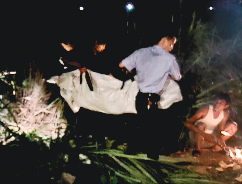 女老師吳曉蕙到學校的地下停車場洗車,不幸遇上死劫。(東森新聞提供)