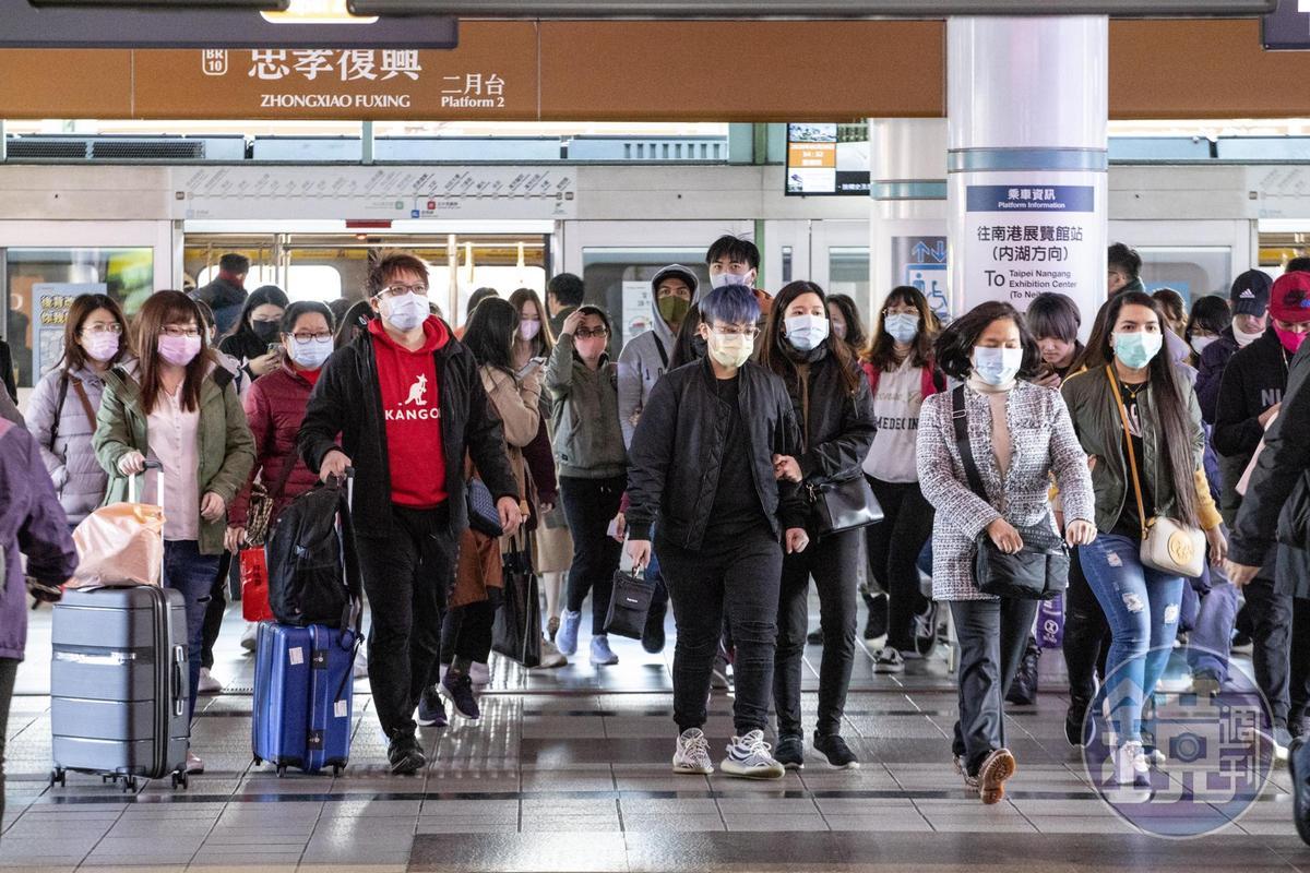 武漢肺炎疫情持續延燒,導致全台口罩供不應求。