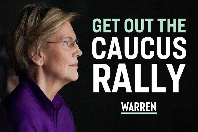 美國民主黨總統候選人華倫的競選策略可做其他女性政治人物參考。(網路截圖;facebook/Elizabeth Warren)